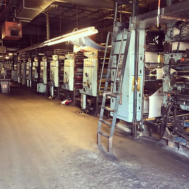There's no smell as fresh ink on anactive press. Print media is a nostalgia like none other: an industry that made me who I am, but that my children may never know.
