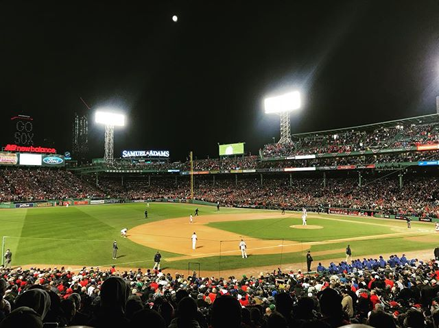 World Series, Game One.
