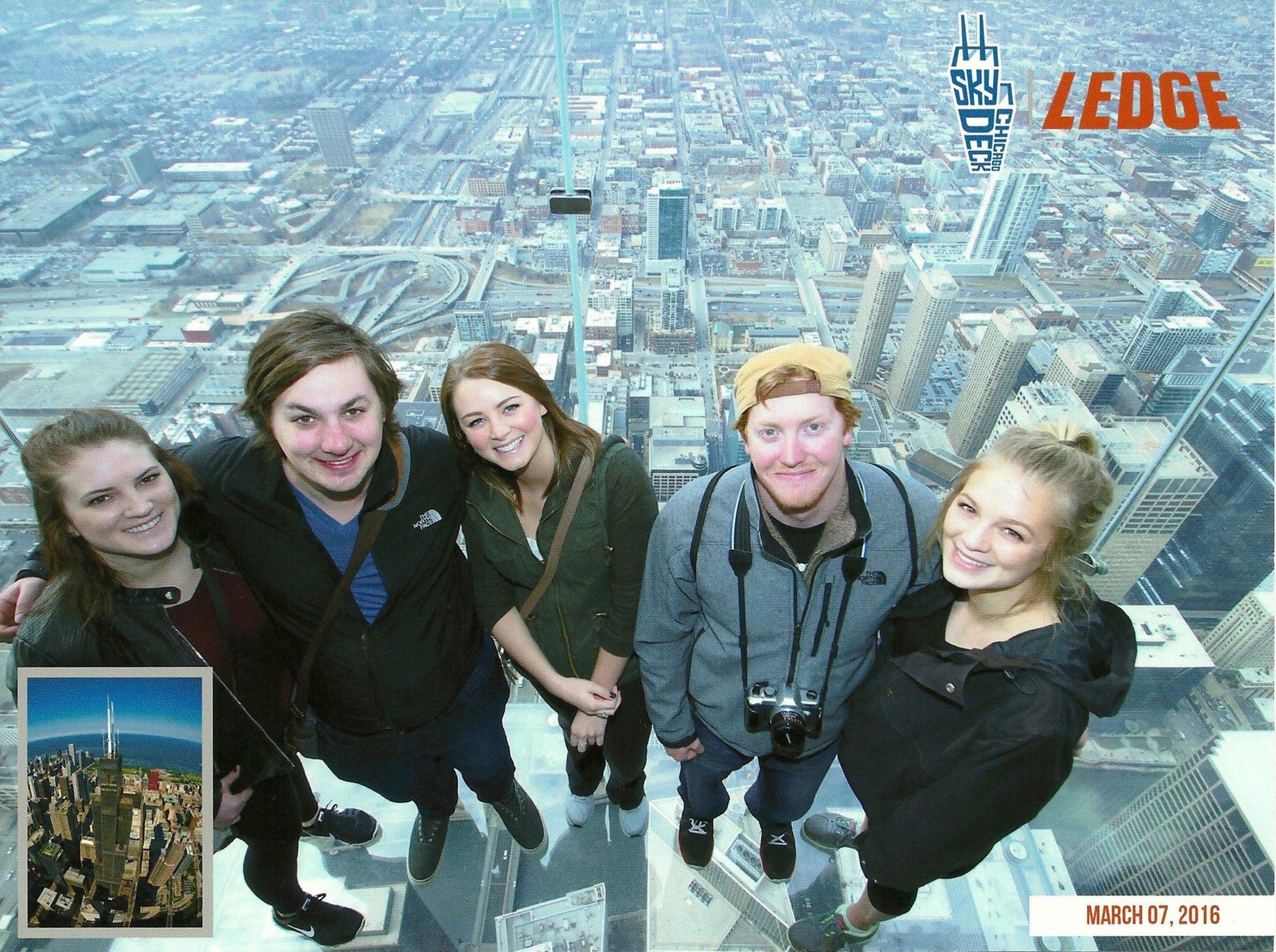 Willis Tower SkyDeck, Chicago, IL