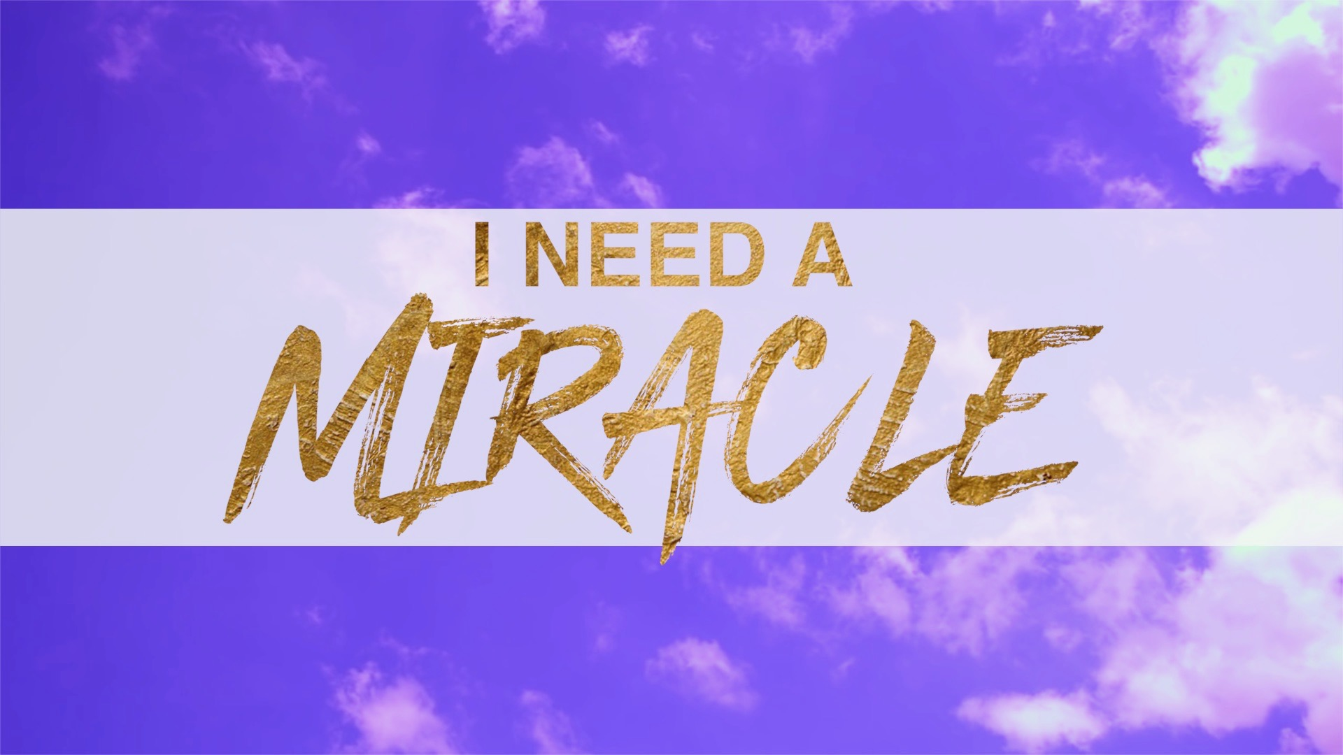 """""""Be a Miracle for Someone Else"""" 3/18/18"""