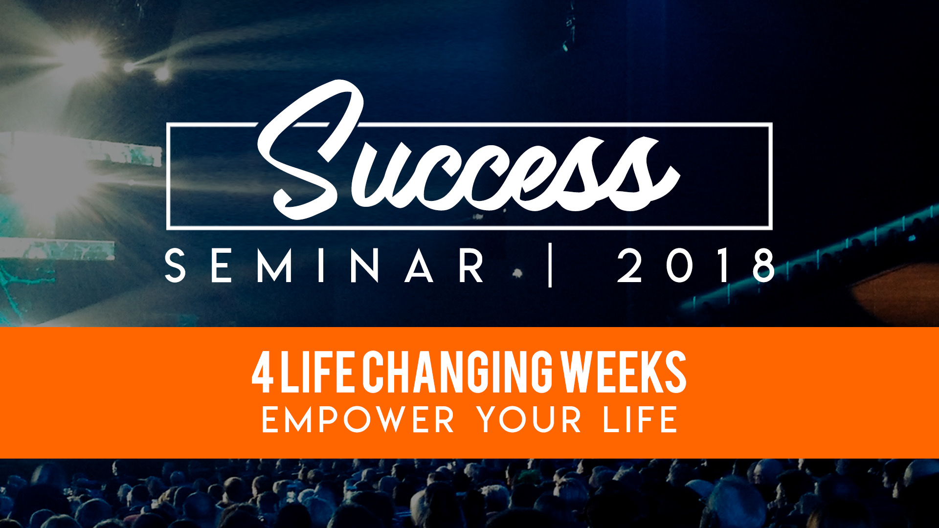 """""""Overcoming the 3 Main Obstacles to Success"""" 4/15/18"""
