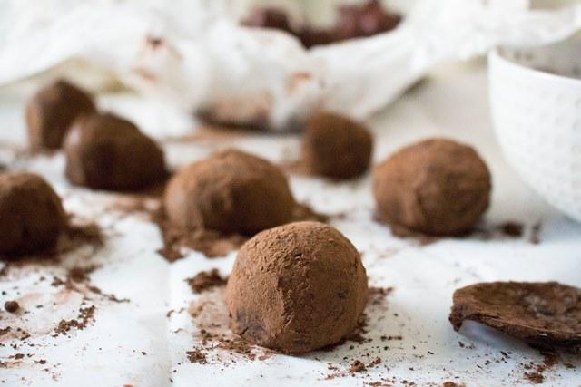 Dark Chocolate Truffles | Pass the Cocoa