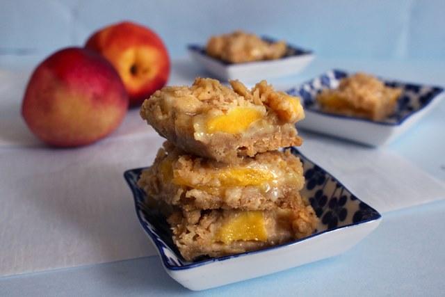 Peach Cream Bars | Pass the Cocoa