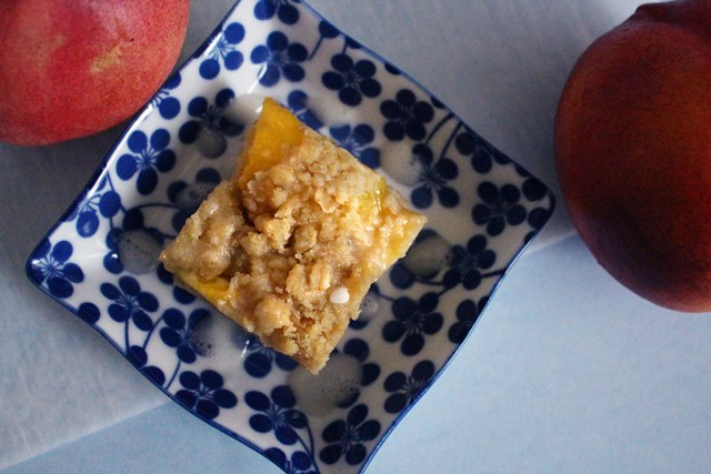 Peach Cream Bars | Pass the Cocoa