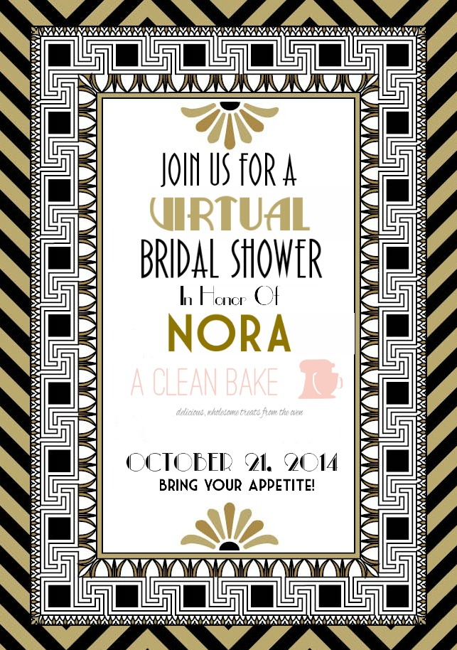 Virtual Bridal Shower for Nora
