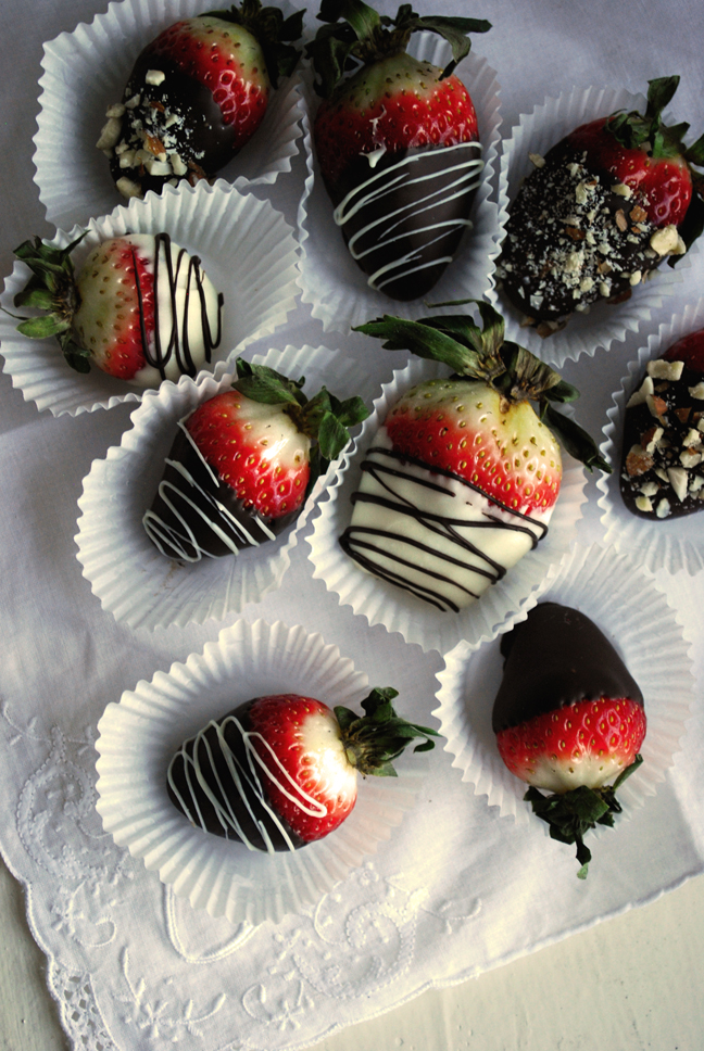 Chocolate-Covered Strawberries | Pass the Cocoa