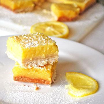Whole Lemon Bars