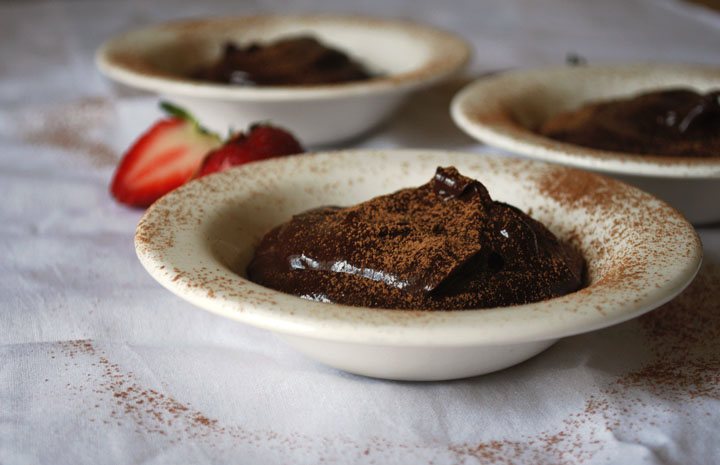 Vegan Chocolate Pudding | Pass the Cocoa