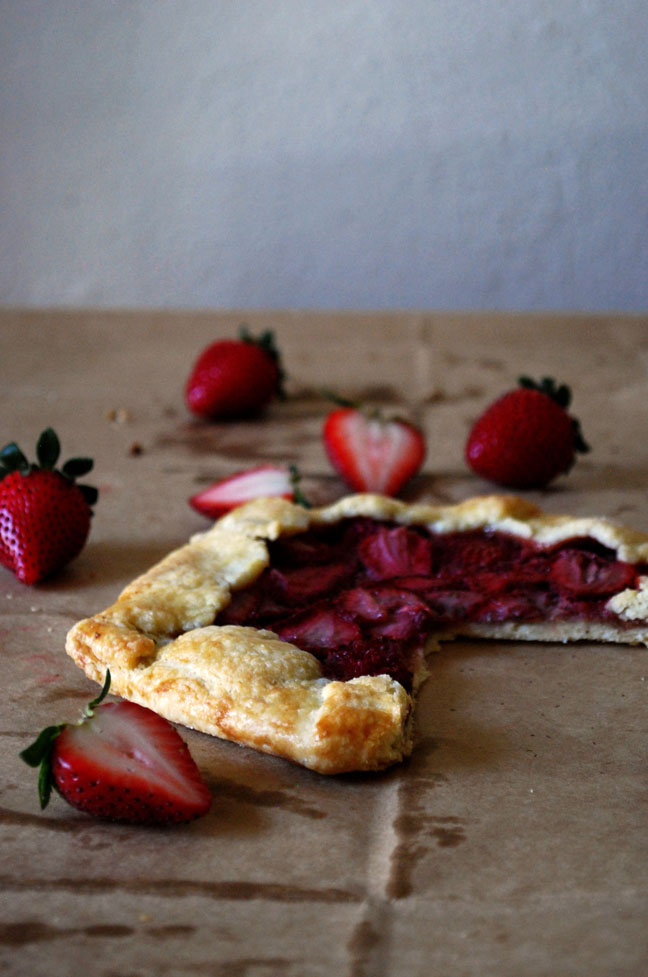 Strawberry Almond Galettes | Pass the Cocoa