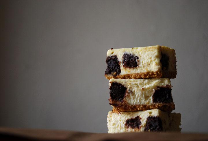 Brownie Mosaic Cheesecake   Pass the Cocoa