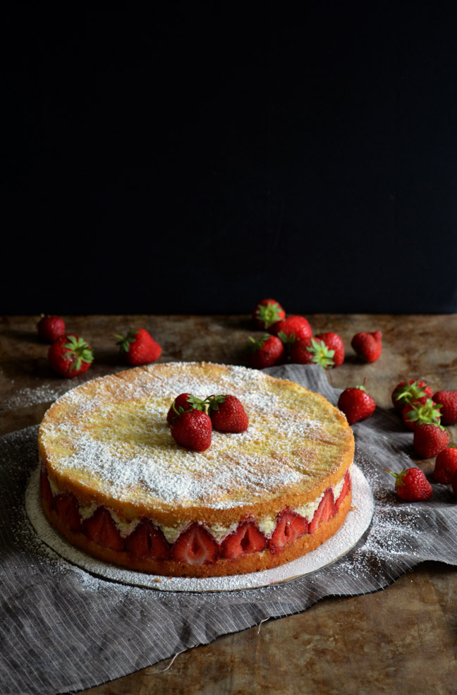Fraisier Torte | Pass the Cocoa