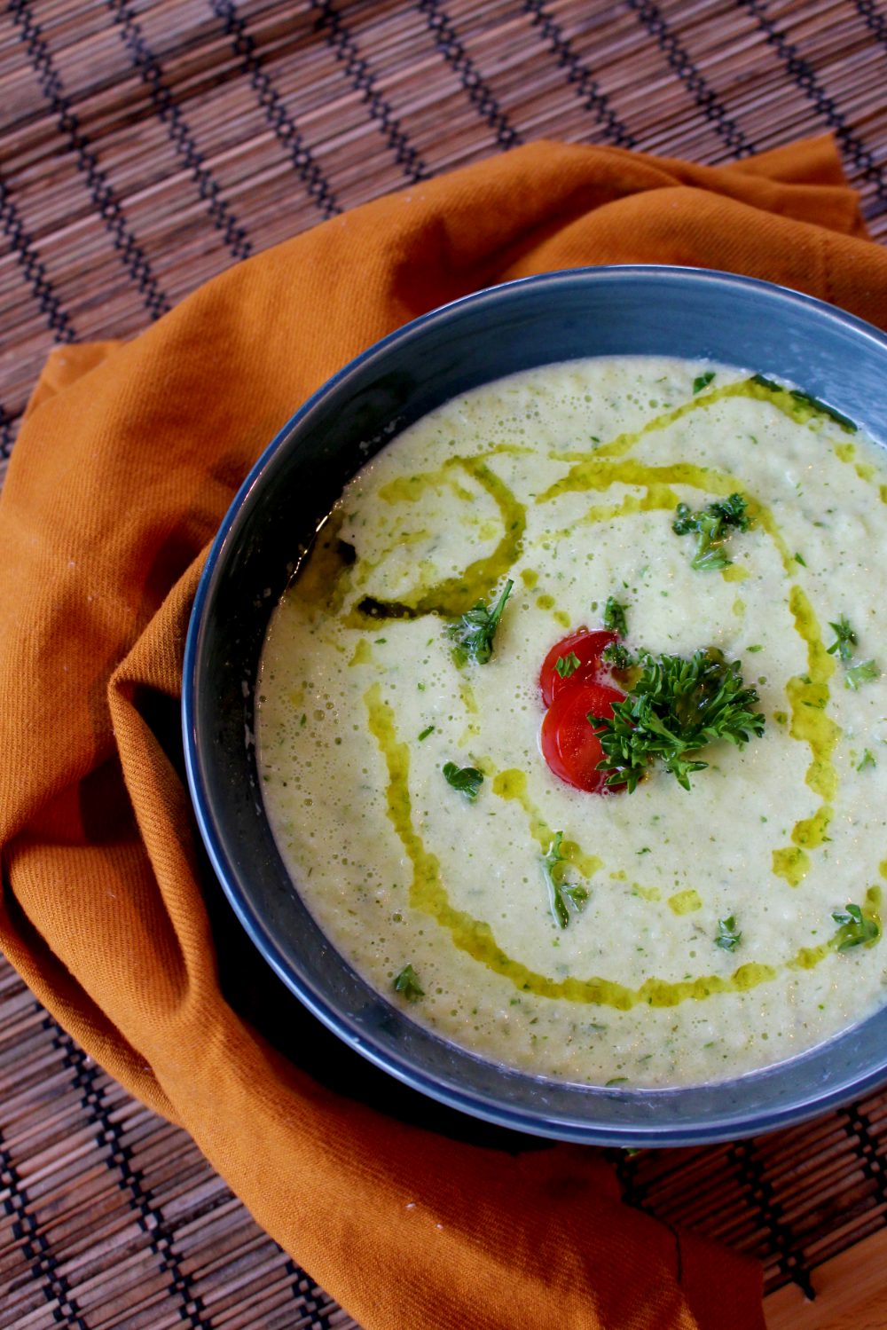 Chilled Cucumber Soup | Pass the Cocoa
