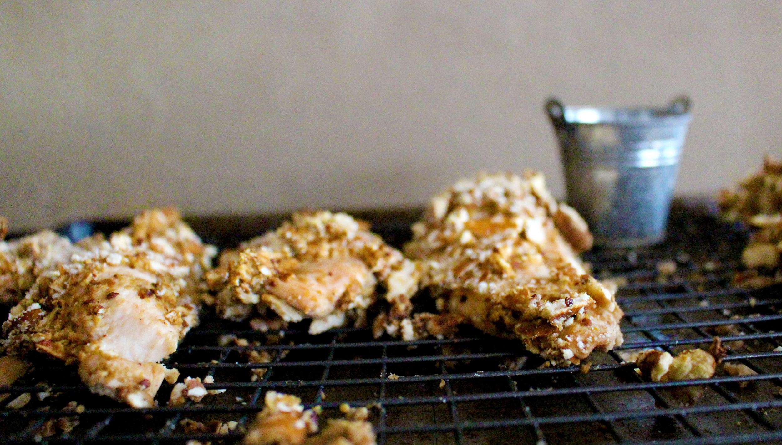Pretzel-Crusted Chicken | Pass the Cocoa