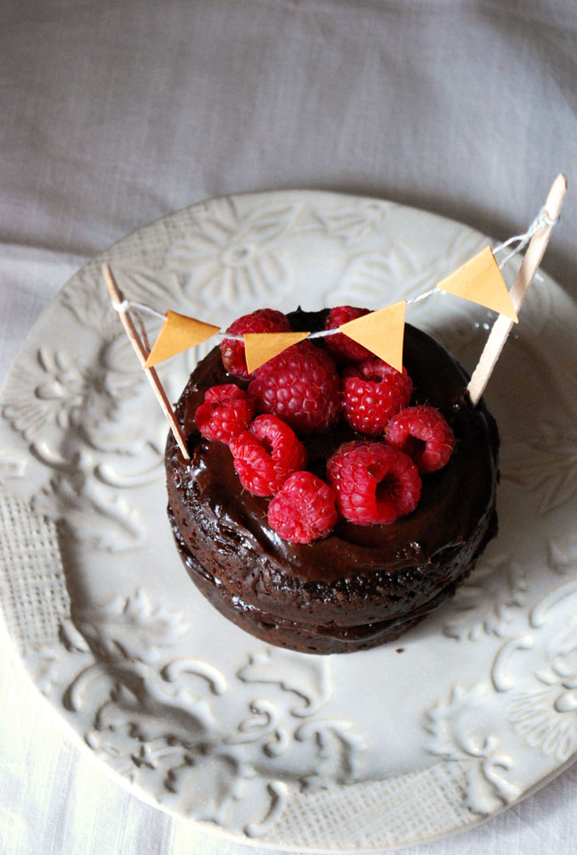 Vegan Gluten-Free Chocolate Cake