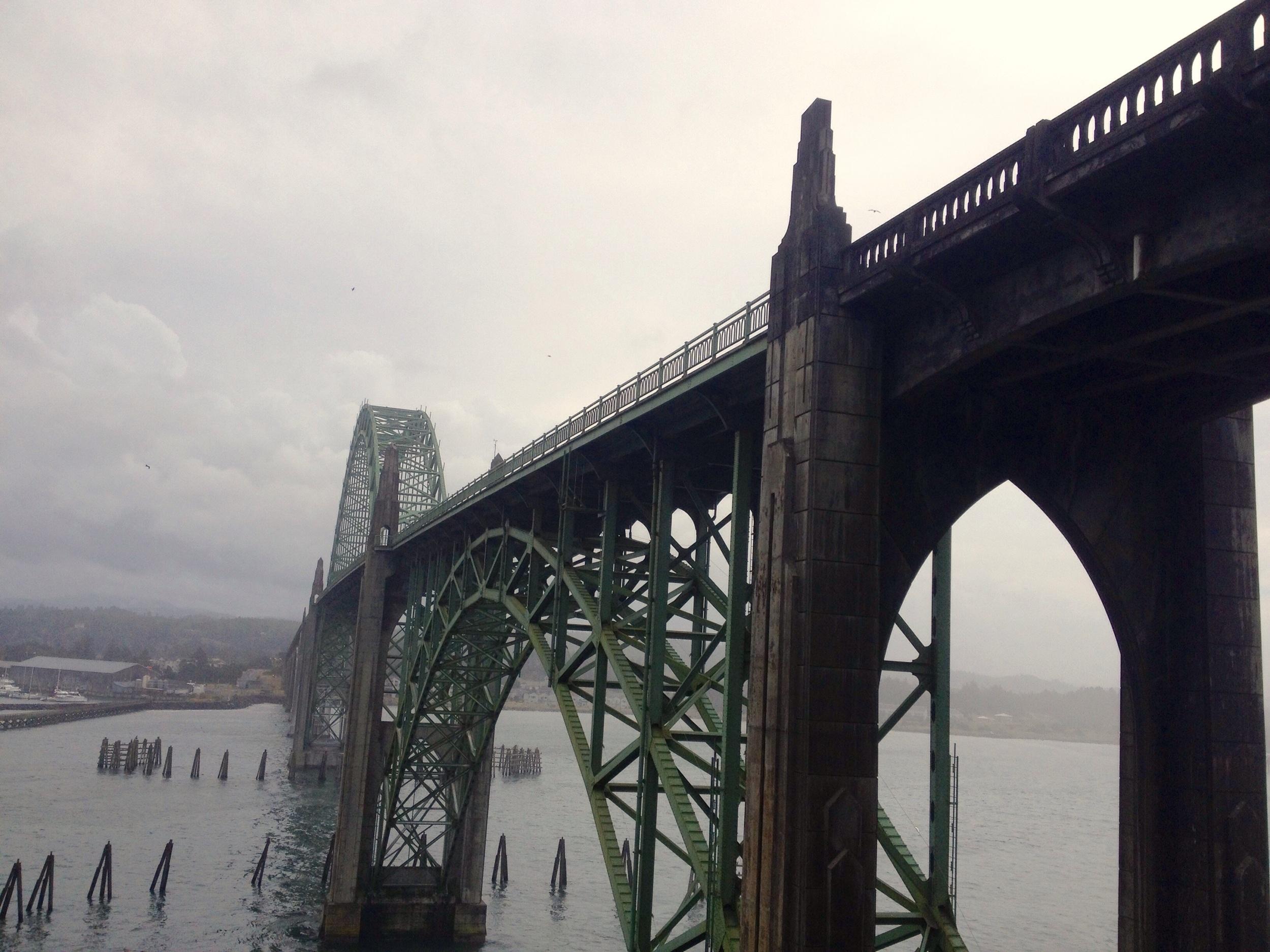 Bridge to Newport, OR