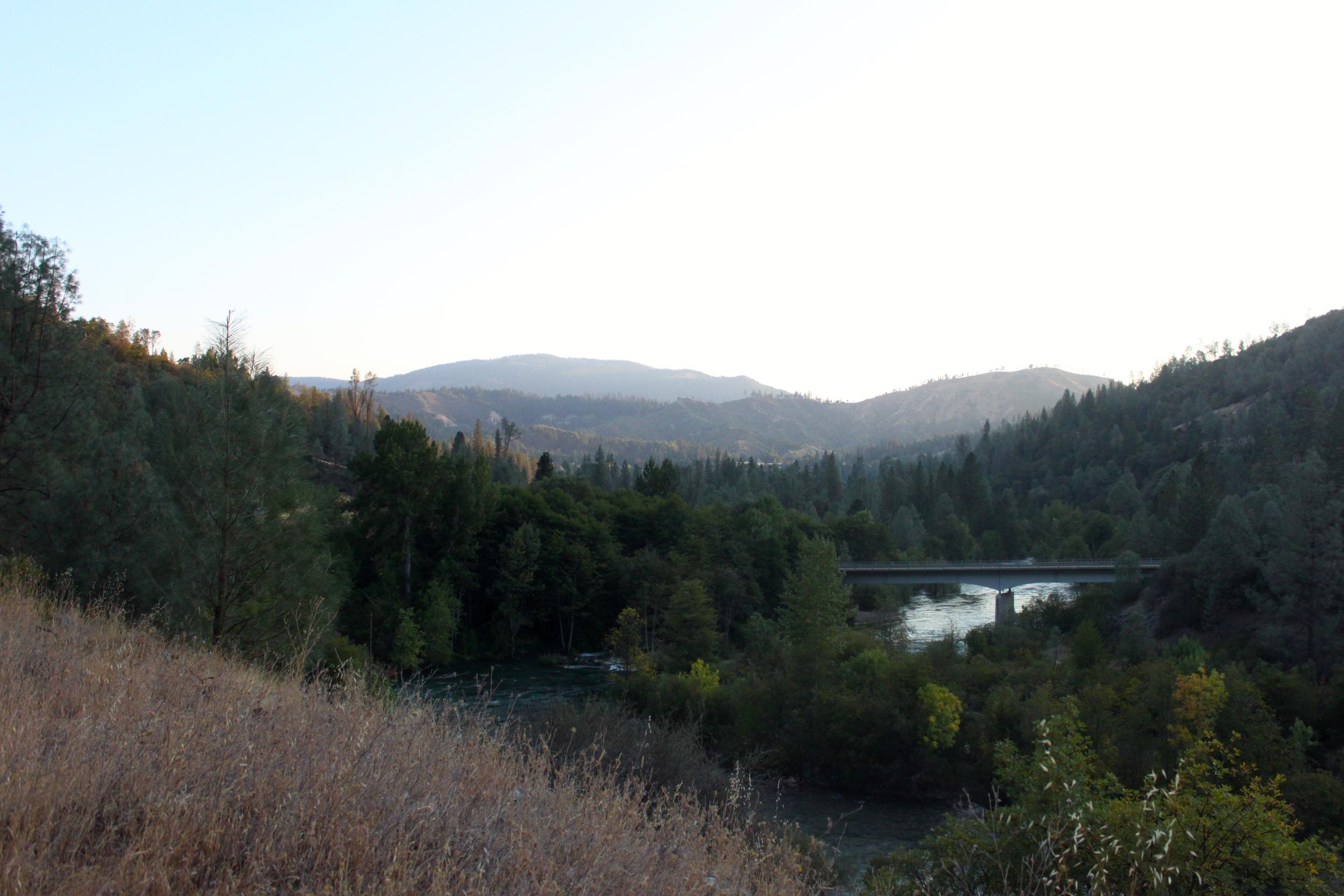 Trinity River near the Lewiston Hatchery