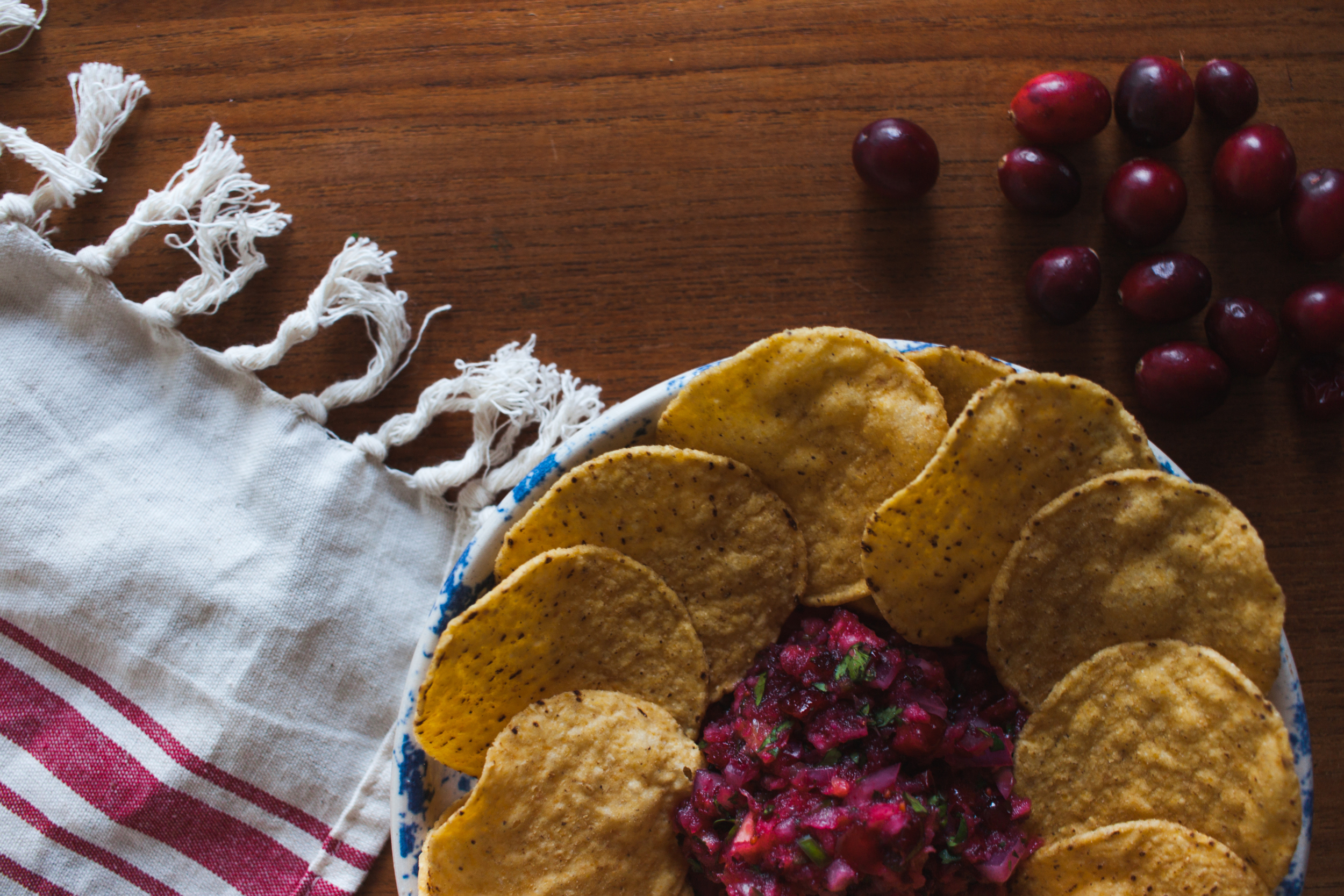 CRANBERRY SALSA – HOLIDAY PARTY DISH