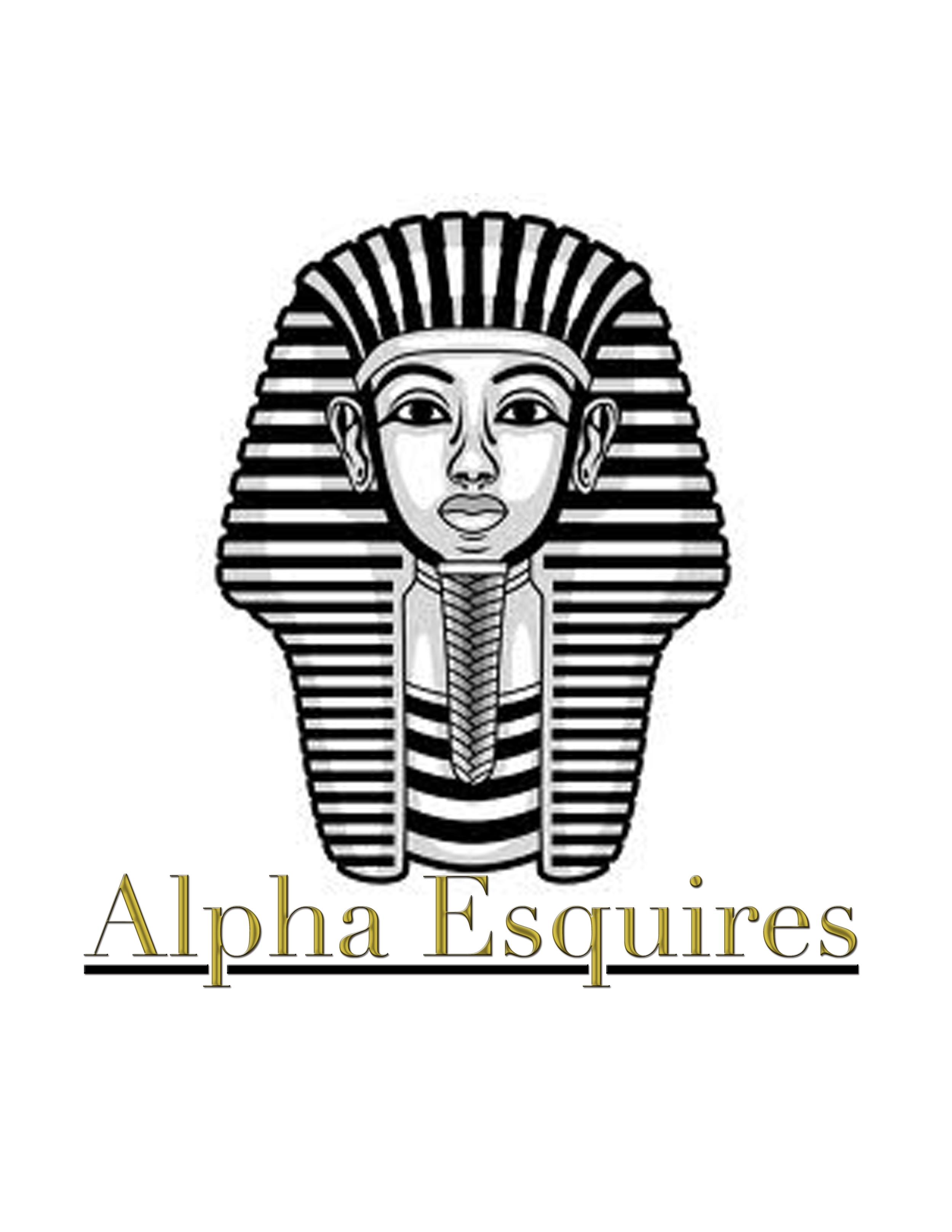 Alpha Esquires Mentoring Program Logo