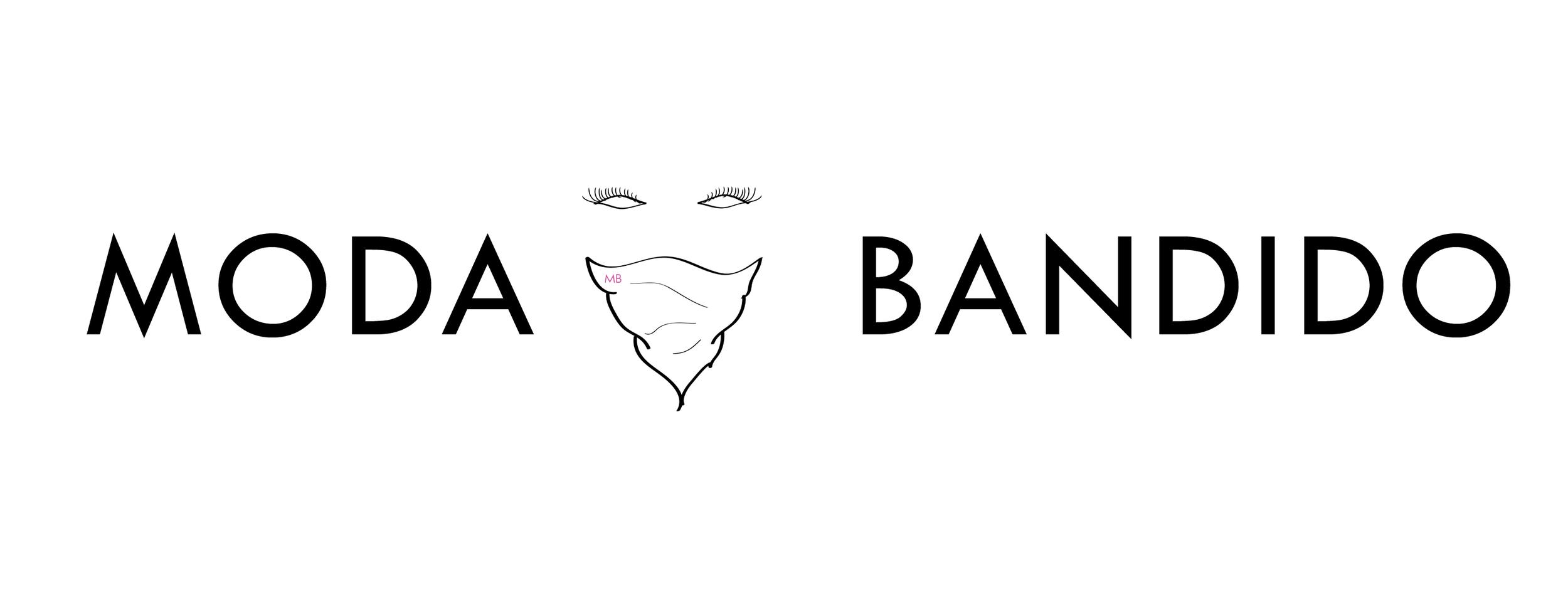 MODA BANDIDO FASHION BLOG LOGO [COLOR SCHEME #3]