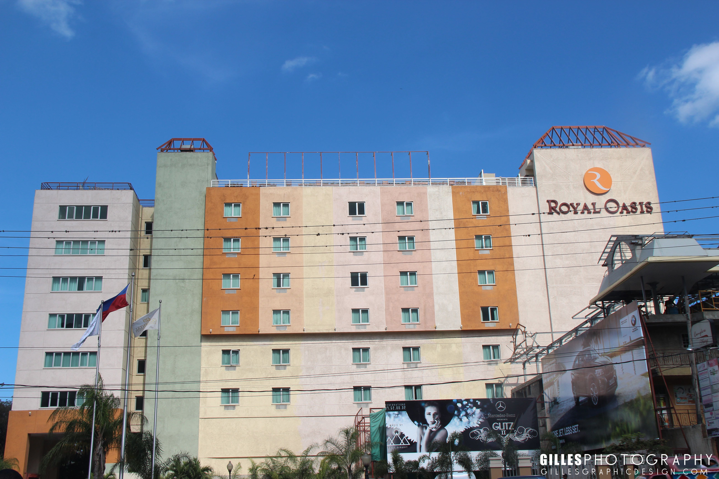 The famous Royal Oasis Hotel