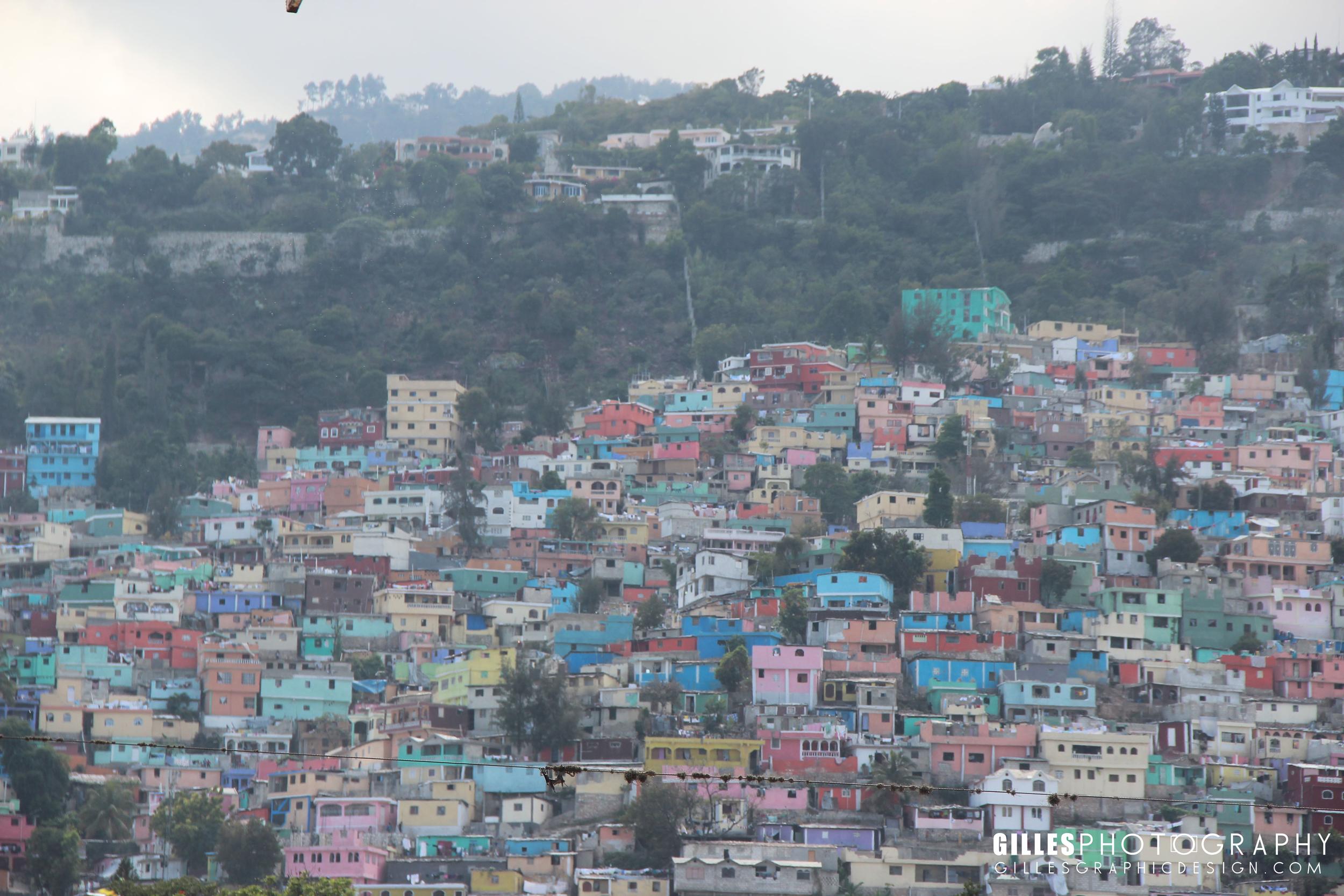 The infamous favelas.