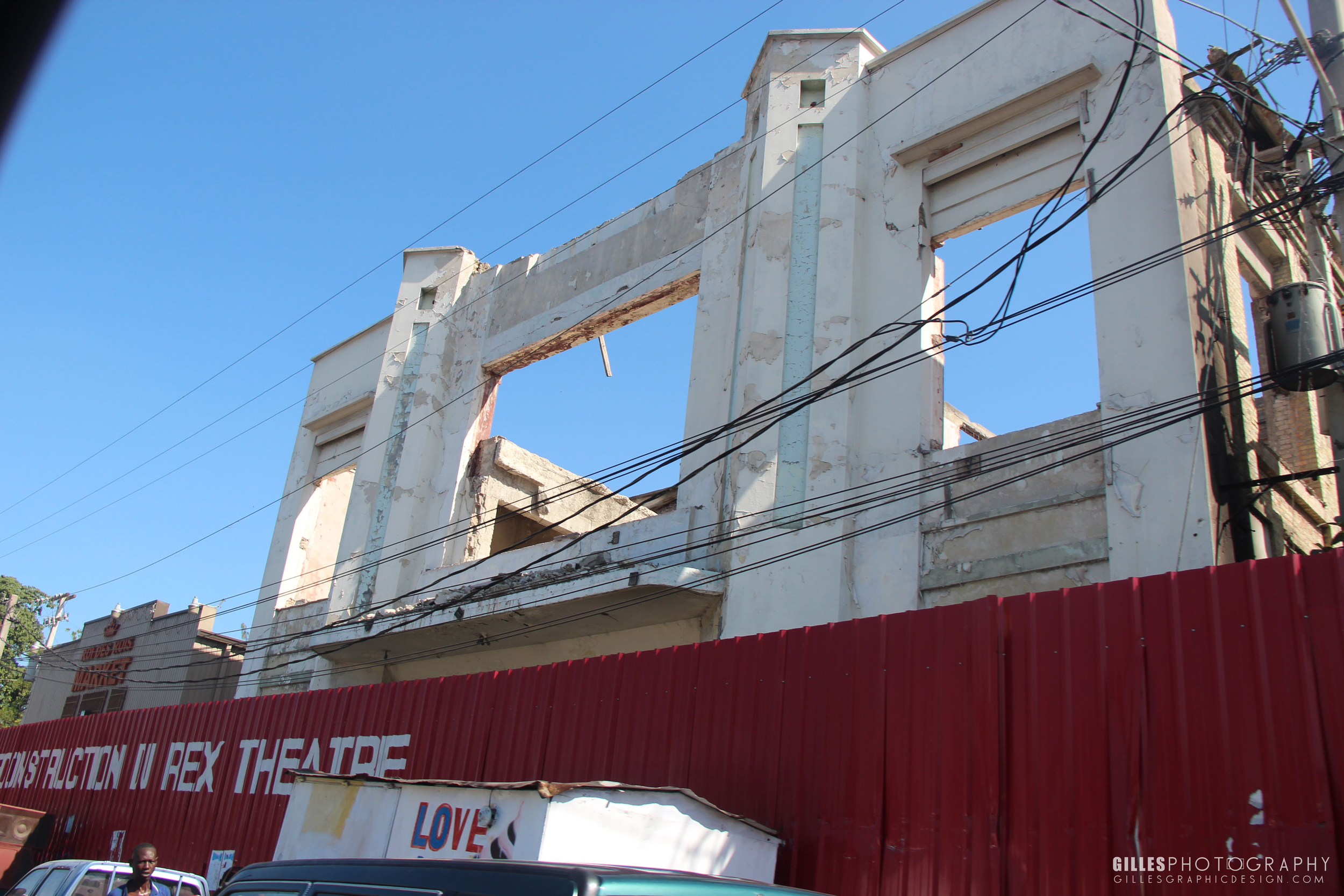 The ruins of the famous Rexe Theatre