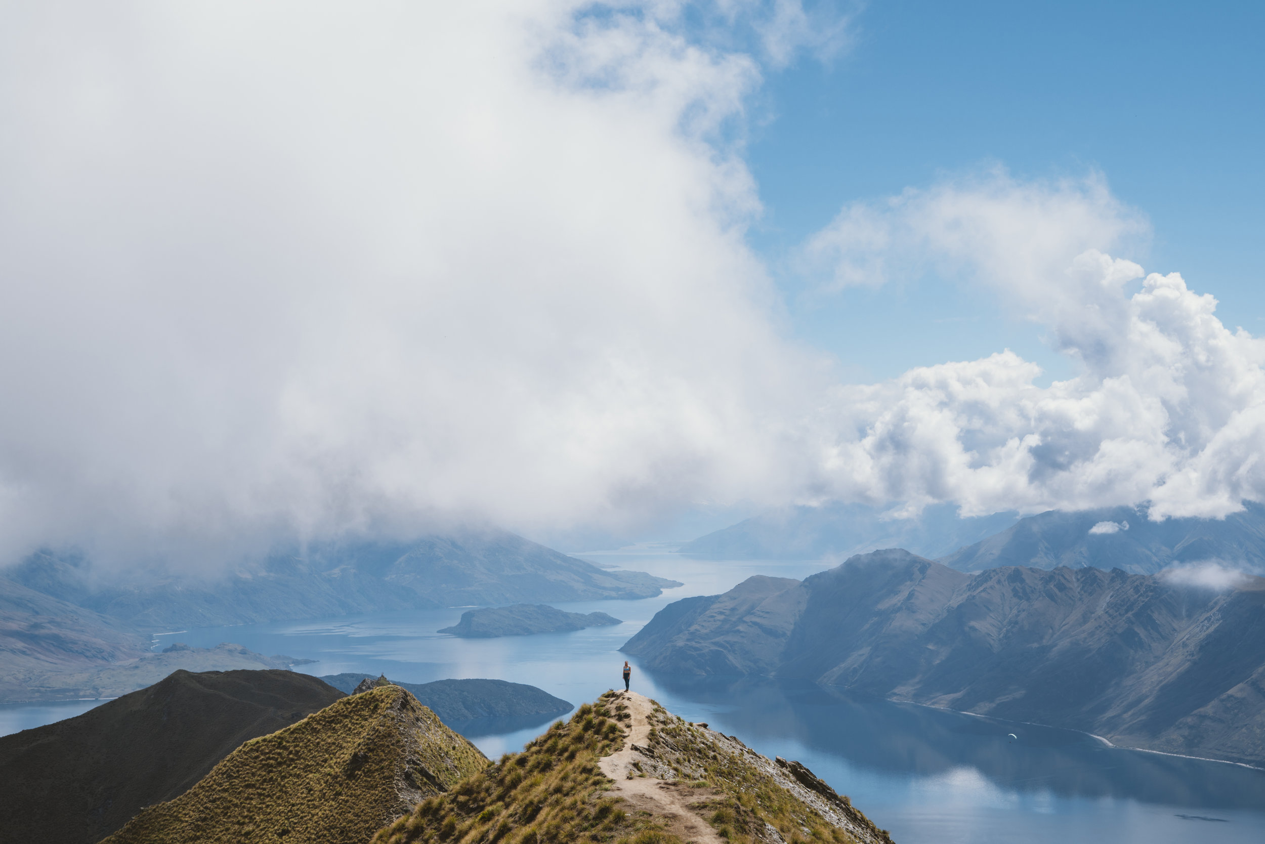 Best Photograph Spot at Roy's Peak in New Zealand