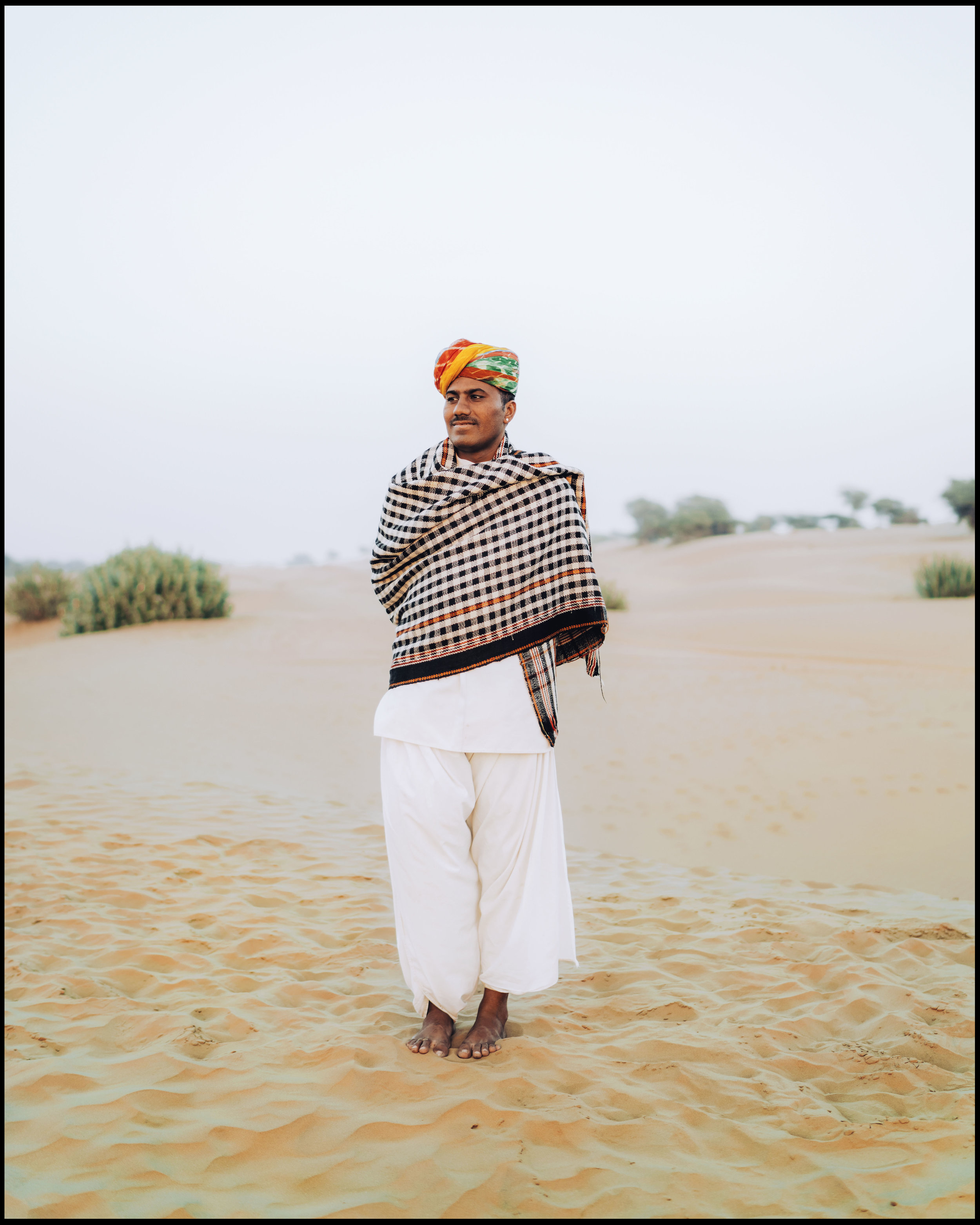 Man in Jaisalmer