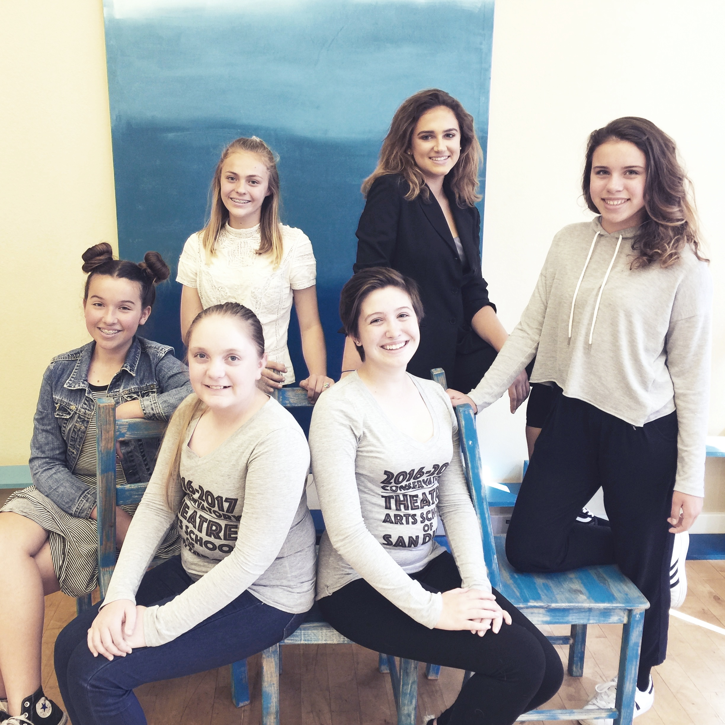 2016-2017 Conservatory Students @ TAS+SD