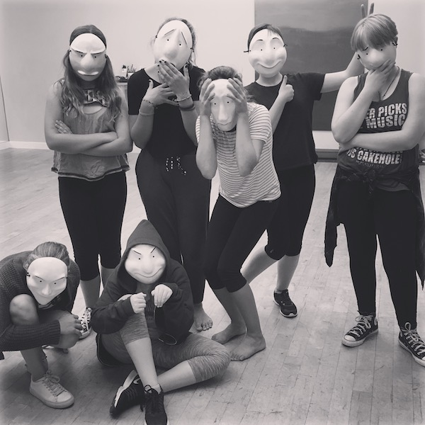 REAL DEAL Theatre Training - TAS+SD Conservatory Students delve into REAL training, including Mask Work, Storytelling Through Movement, and Viewpoints classes