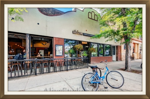 Our Boulder home base:  Shine Restaurant's Gathering Place