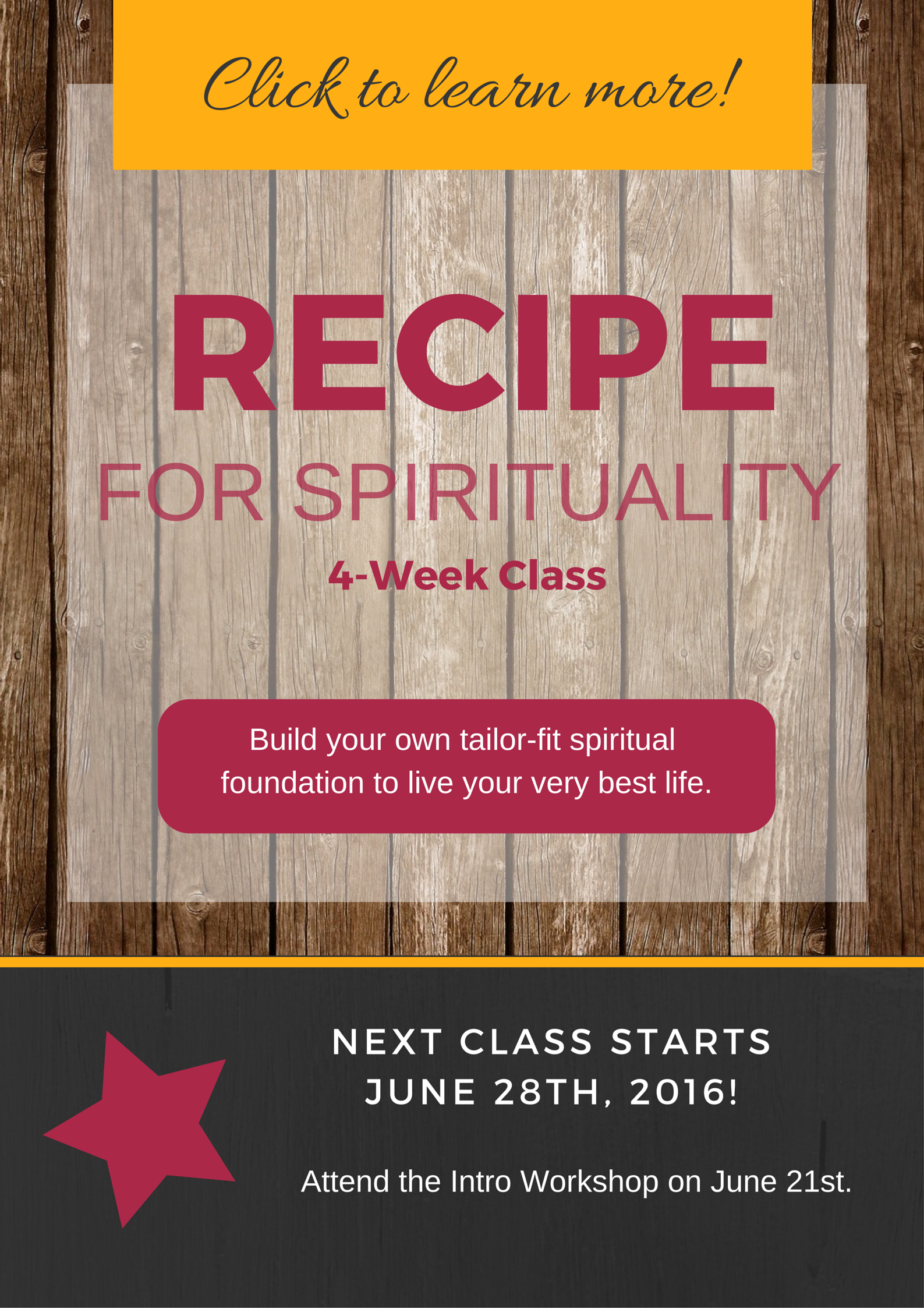 CLICK HERE TO LEARN MORE ABOUT THE CLASS!