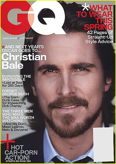 Christian Bale GQ Magazine. Tuesday, February 20th, 2007.jpg