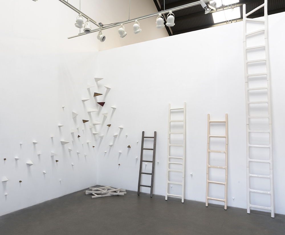 Elizabeth Orleans  Giant Steps,  Installation View, 2016