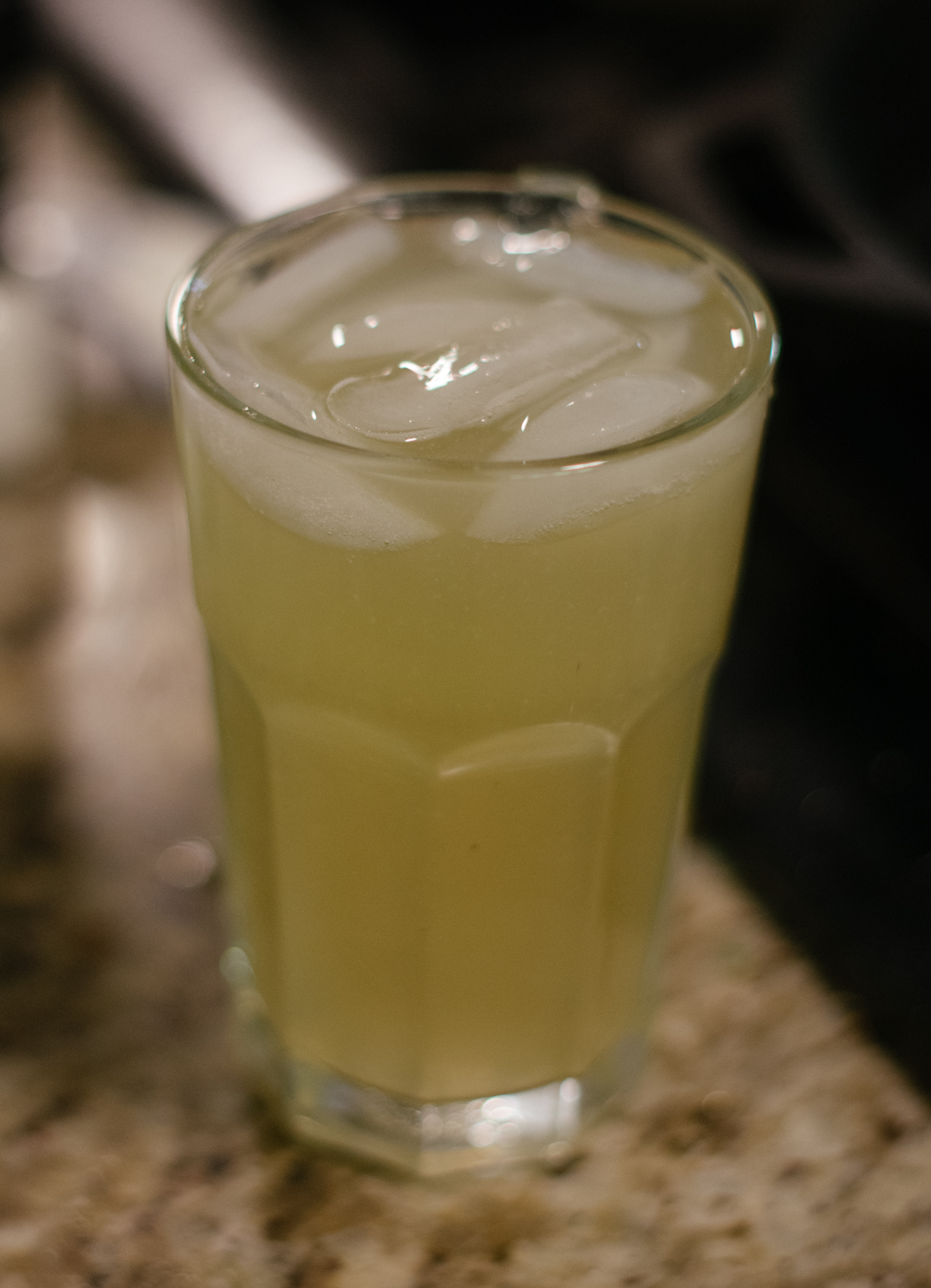 Switchel:  I used to do shots of apple cider vinegar with my coworkers when I was on the AM shift at work, and it's still given me a sort of fight-or-flight-or-freeze reaction whenever I smell ACV, so I was sort of reluctant to make this drink. But it's good! It's really good, and I'm drinking it as I type right now.