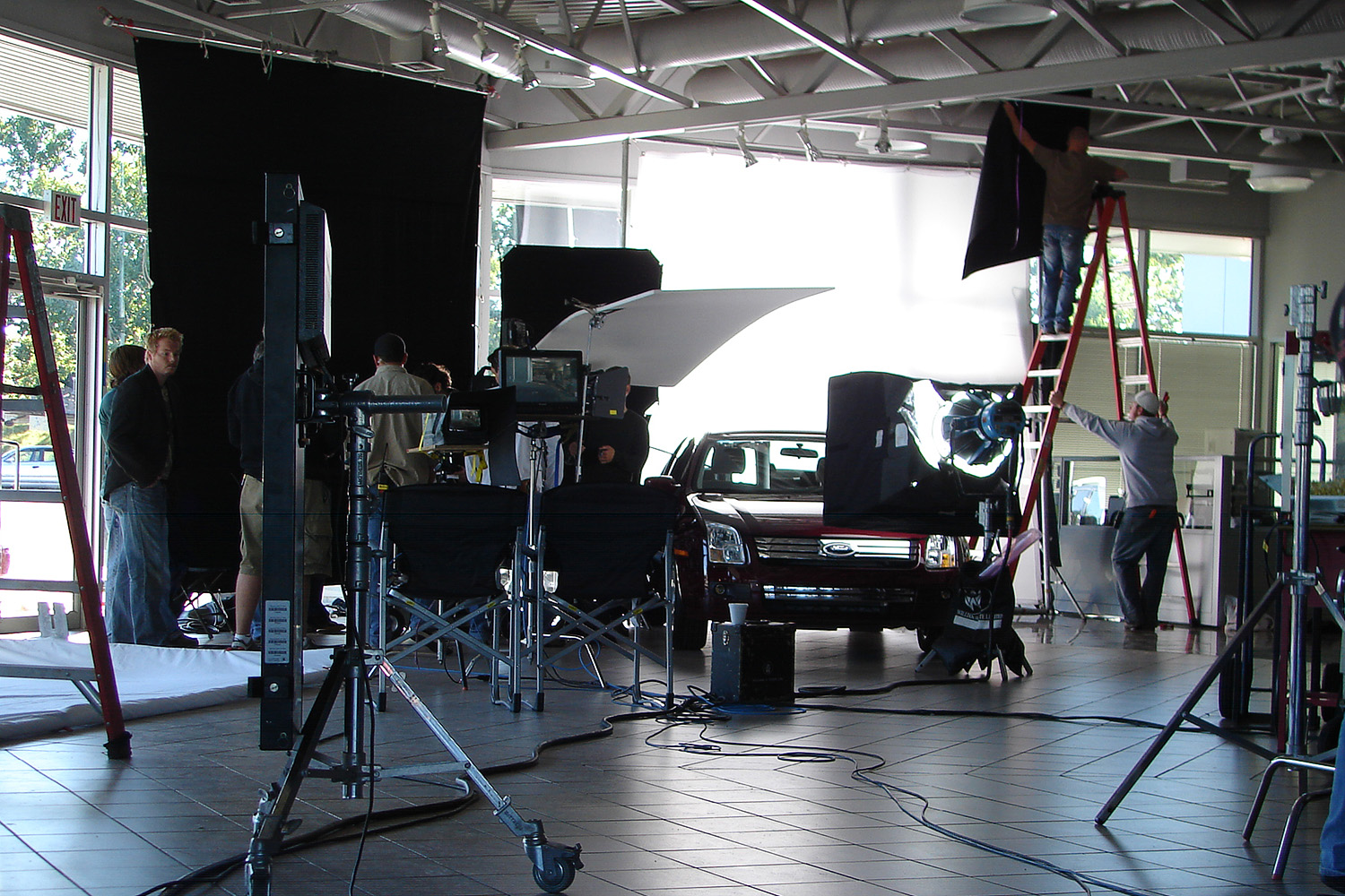 Ford Ad Shoot