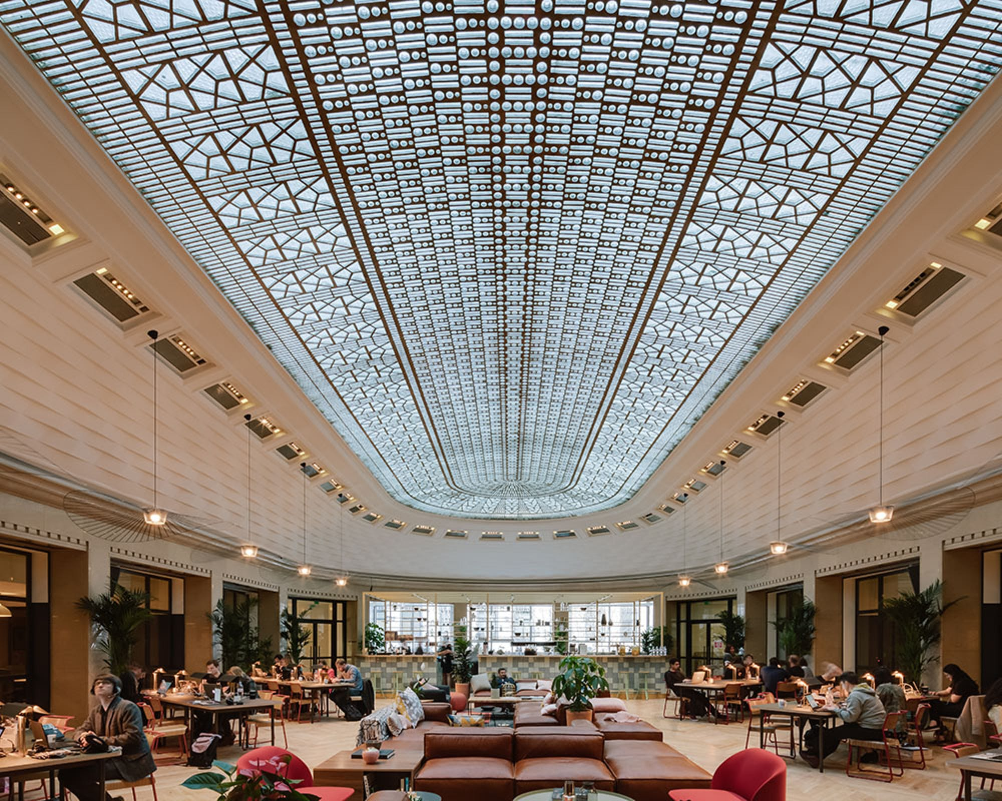 www.architecturaldigest.com | An Exclusive Look at WeWork's First Paris Location