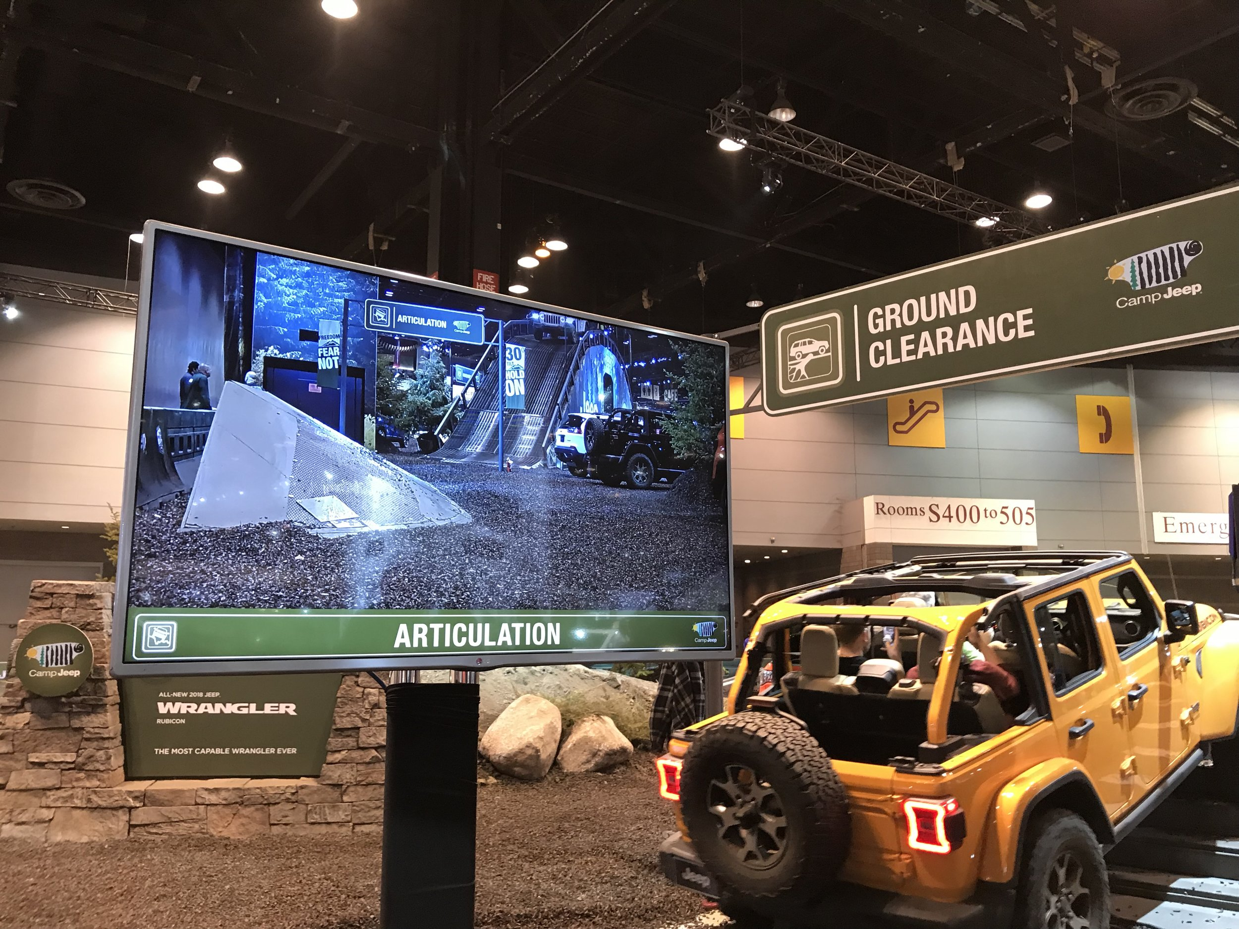 Jeep Off-road Obstacle Course