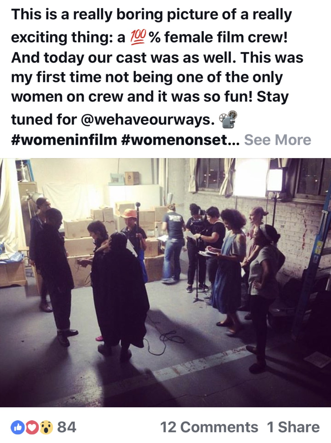 Picture & post by Darcy Sharpe/ Production Designer