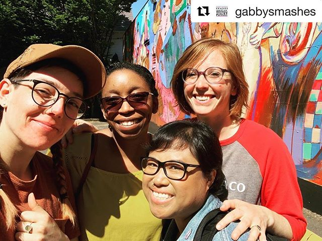 #Repost @gabbysmashes ・・・ Scoping out locations for production in a couple of weeks! Also meet our production designer, KC!  #filmmakers #femaledirectors #womeninfilm #portland #webseries #wocfilm