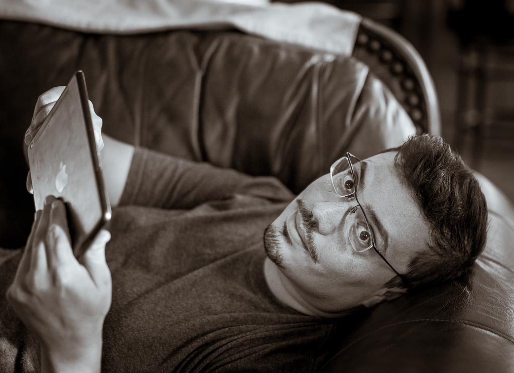 ...recent - playing with the iPad mini wifi app & the Sony A7S...do I seem coy and charming, or just totally full of myself and a lazy couch potato?  oh... the latter... well......... poop.      Scroll on to learn more about our dashing hero...