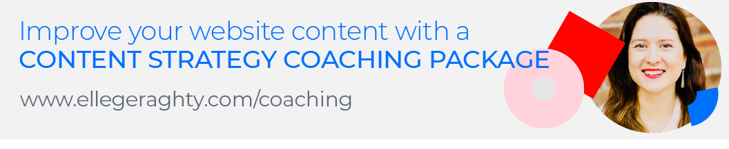 Elle Geraghty content strategy coaching