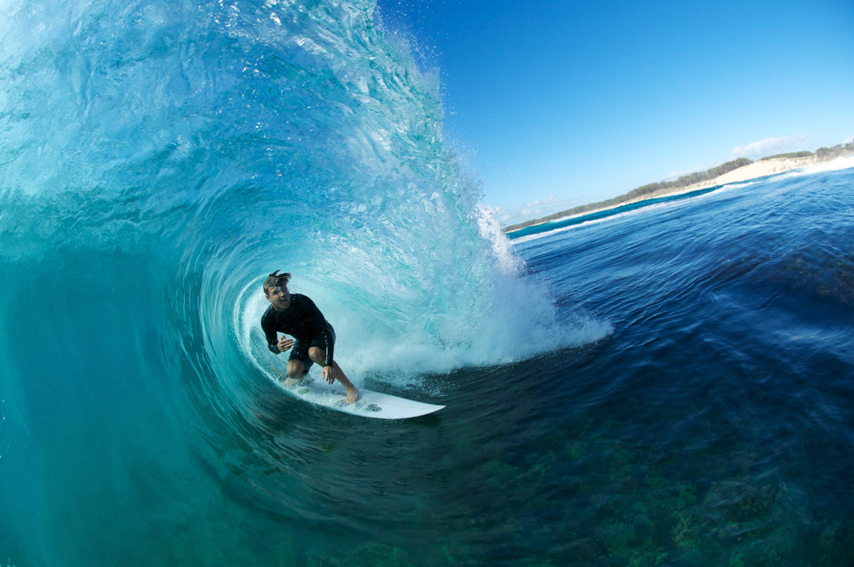 Nice shot of Saxon Lumsden, one of the young up and coming surfers from the Central Coast who has worked with Luke since 2008