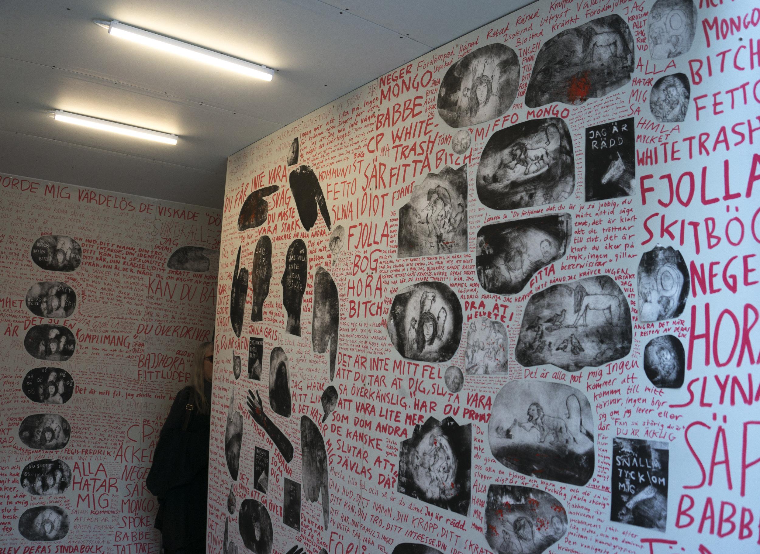 Vi kan bättre: installation and animation, 2016