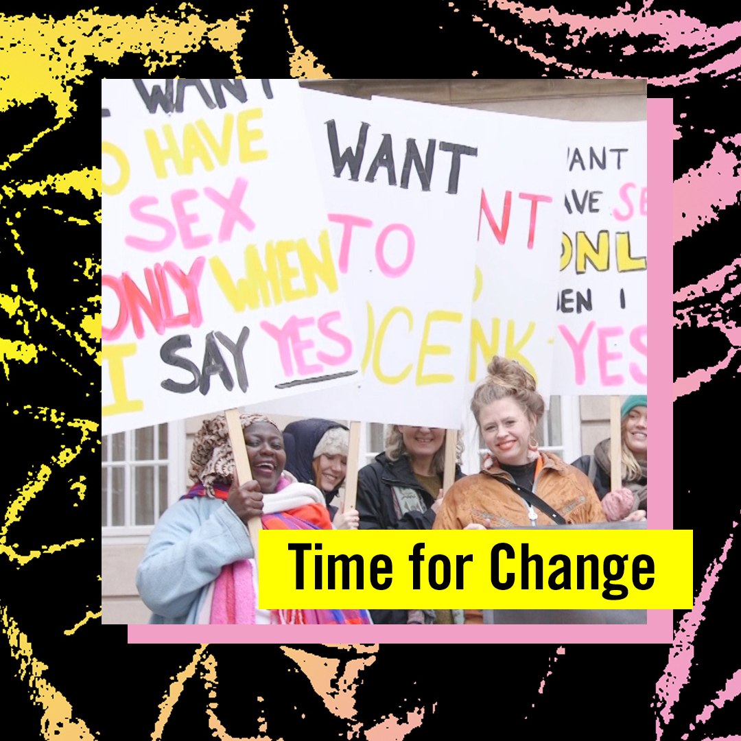 Amnesty Sweden campaign - Graphic profile and animation for the campaign Time for Change, Amnesty Sweden