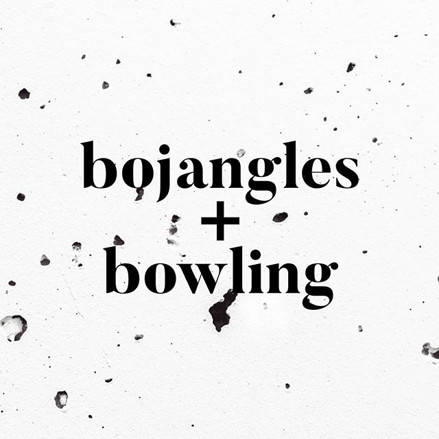 = your Spring Break plans for tonight! Meet at the Bojangles on Broadway at 6:30 then bowling at Maple Hall to follow. Great opportunity to bring a friend! See you there!