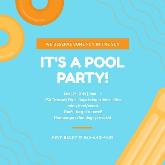 Kicking off summer in the best way ☀️ THIS SATURDAY. Bring a friend and a towel | and don't forget VISION this Thursday at 7pm!