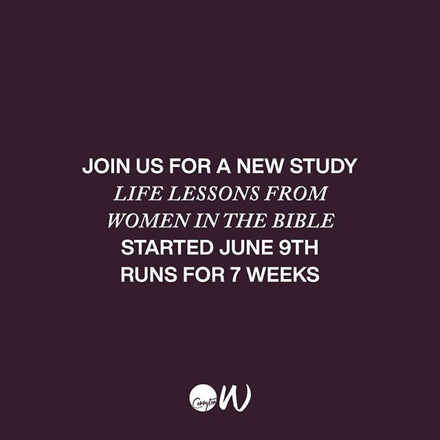 Message us today to jump in for this great study. #CorrytonWomen