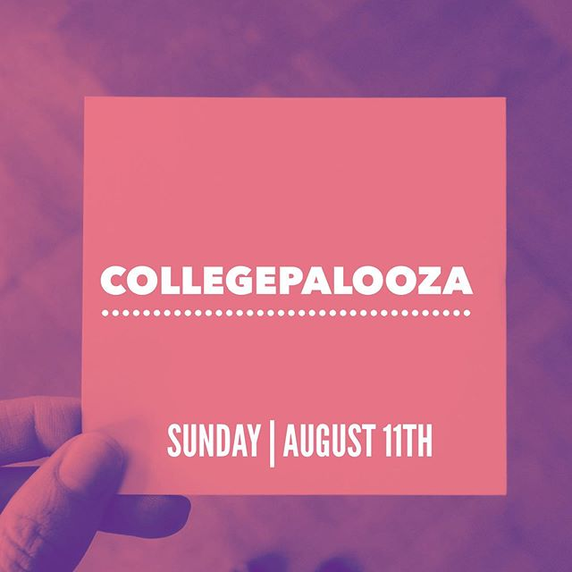 🚨ATTN🚨 all college students! #Collegepallooza is back. It's the end of the summer bash you don't want to miss. Grab your friends and bathing suits and head to the Royals household immediately following church on Sunday, August 11th. Lunch is provided. See you there and spread the news!