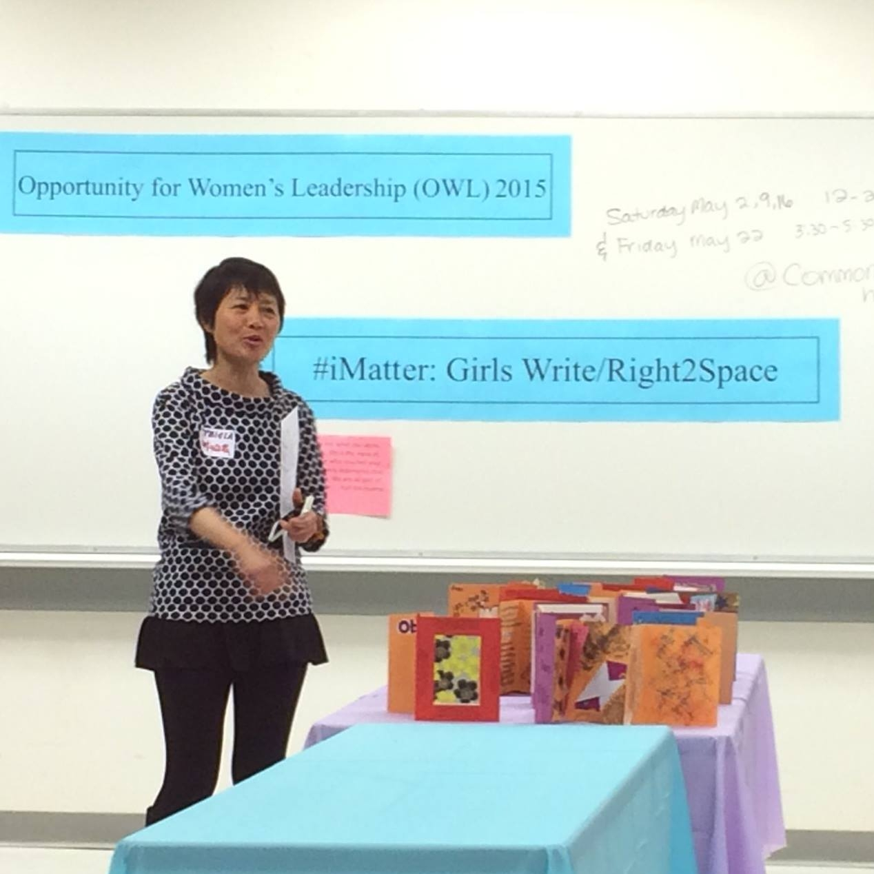 Tricia Women's Leadership event